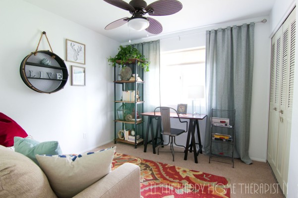 Quirky Home Office   The Happy Home Therapist