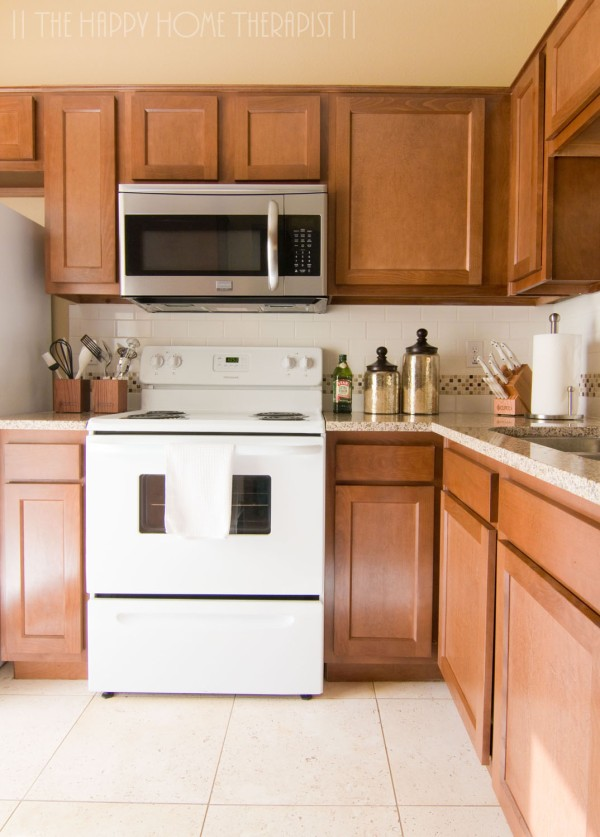 My townhome kitchen after renovations. | The Happy Home Therapist