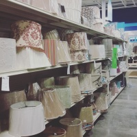 Rows upon rows of home decor at At Home! | The Happy Home Therapist