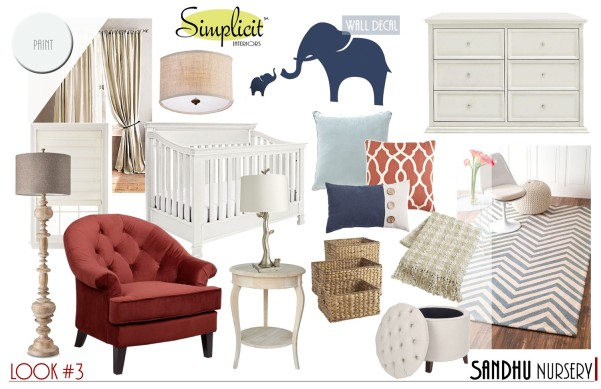 Mood board for a client's nursery project. | The Happy Home Therapist